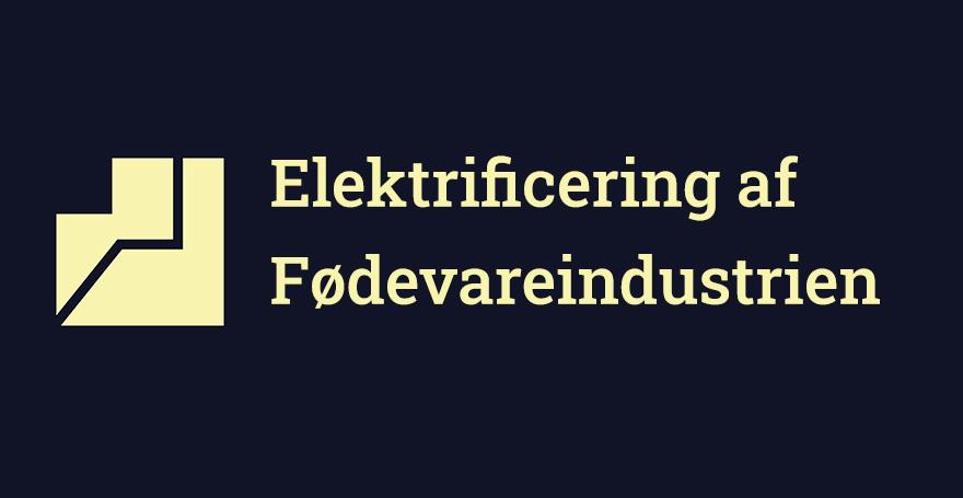 elektrificering fødevareindustrien